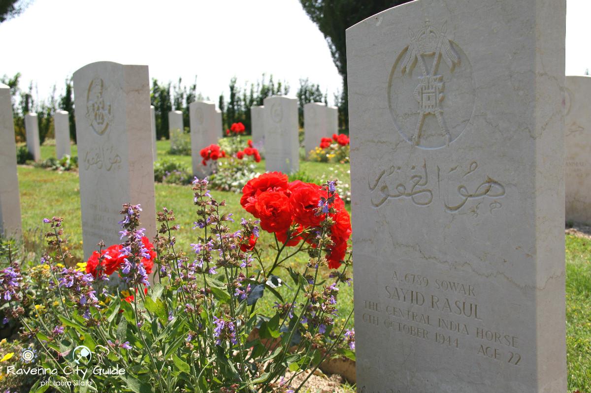 cimitero di guerra ravenna