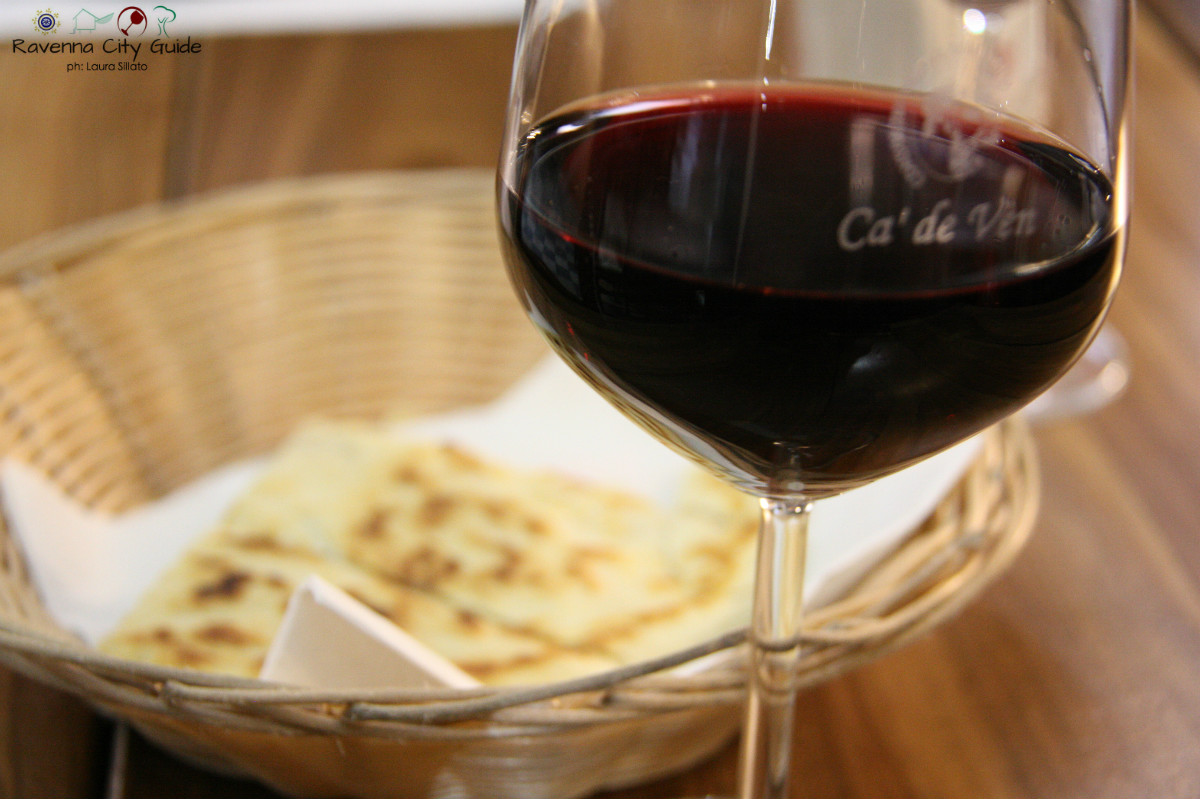 sangiovese and piadina