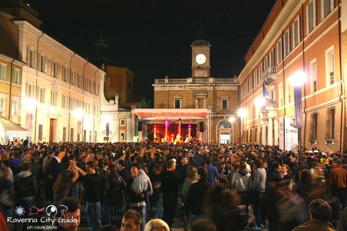 piazza del popolo notte d'oro