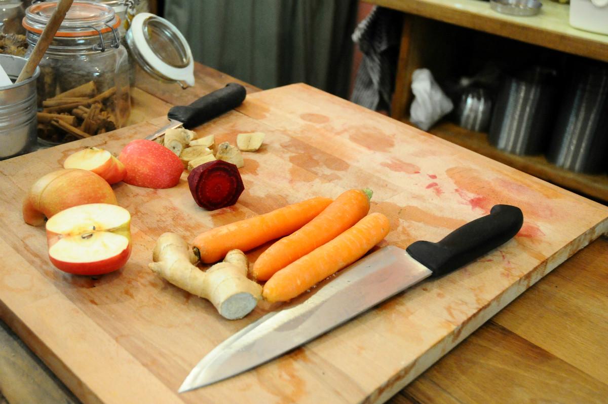 healthy food in ravenna