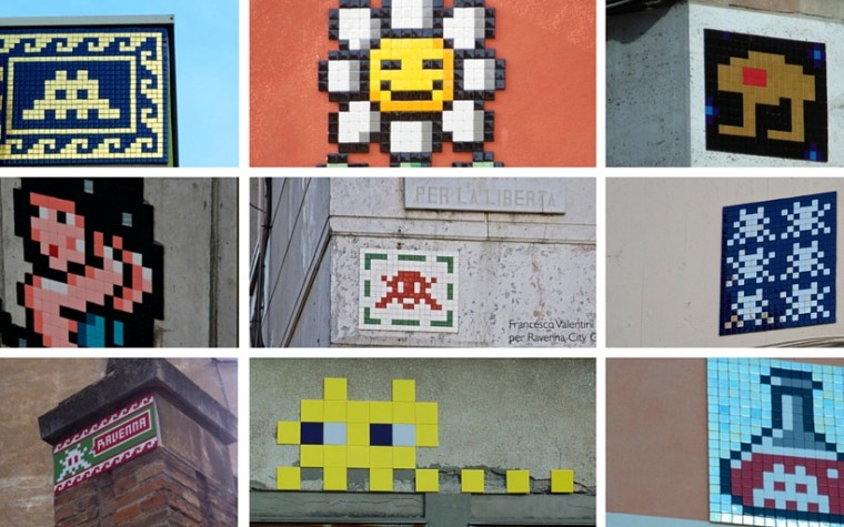 Invader – The space invasion of Ravenna