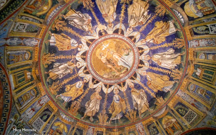 A gaze to past: the Battistero Neoniano (baptistery of Neon)