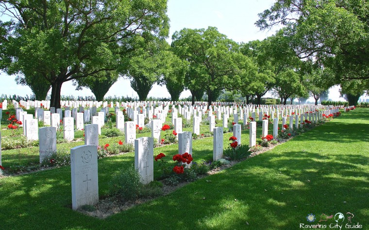 cimitero di guerra ravenna piangipane